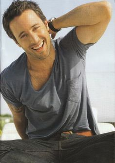 Alex O'Laughlin, I always said I would marry you, regardless if your older than 40!