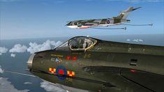 Just Flight - Aerosoft - English Electric Lightning Air Force Aircraft, Navy Aircraft, Military Jets, Military Aircraft, Handley Page Victor, War Jet, Thunder And Lightning, Jet Plane, Royal Air Force