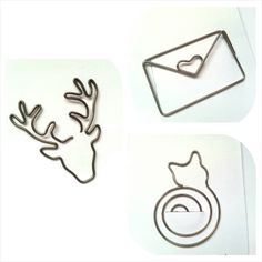 Decorate your planner with these adorable paper clips! Choose from: -Deer (Brass) 5 cm X cm -Envelope Happy Mail with Heart (Silver) cm X cm -Sitting Cat (Silver) cm X cm Deer Antlers, Happy Mail, Paper Clip, Unique Jewelry, Handmade Gifts, Accessories, Vintage, Etsy, Envelope