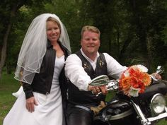 Okay call me crazy but I love the leather jacket with her wedding dress kinda reminds me of bride of chucky