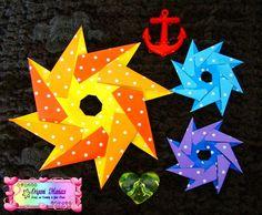 Estrellas de Origami Para Decorar Tarjetas o Regalos | Aprender manualidades es facilisimo.com                                                                                                                                                                                 Más