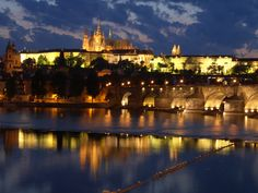 Prague Castle...the largest castle in the world and one of the most beautiful can be found in the Czech Republic.