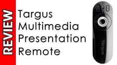 Targus Multimedia Presentation Remote Review