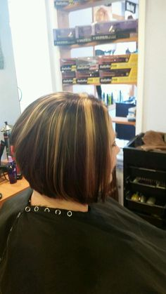 #fallhighlightslowlights Beautiful hair color for the fall season from Shabby Shek Salon & Boutique of Tunkhannock, PA