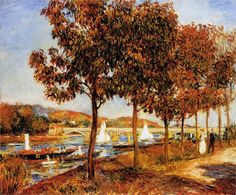 The Bridge at Argenteuil in Autumn - Pierre-Auguste Renoir, 1882