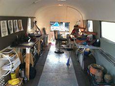 Solar Airstream Fab Lab