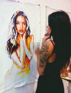 Art and the Artist ~ Charmaine Olivia #charmaine olivia #art