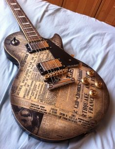 Gibson Les Paul bad news guitar