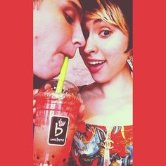 Too cute not to share...and the people are pretty funny too ;D j/k !! But seriously make sure you check out our Red Velvet Bubble Tea Latte!!!   Awesome Photo Credit/Repost of @cgar1121  #redvelvet #bubbletea #bubble #tea #cuteness #red #drinks #smiles #silly #caffebeneDallas #caffebene #caffebeneusa #boba #latte #coffeehouse