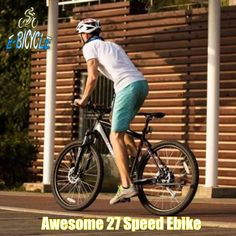 Awesome 27 Speed Ebike  - This Ebike is exactly what I was looking for. I needed an alternate form of transportation for my commute to and from work to save on gas and get some much-needed exercise.  #ebike #ebicycle #electricbicycle #frewaybuffalo