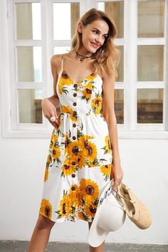 38c428f9ea04 24 Best Sunflower Dress images | Wedding inspiration, Wedding ideas ...