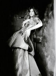 Natalia Vodianova by Paolo Roversi for Vogue Italia September 2004, A Girl of Singular Beauty 11