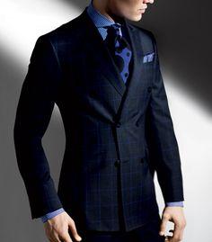 Paul Stuart - Plaid Wool Doyle Suit