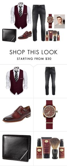 """My Man's closet1"" by hsimon0526 on Polyvore featuring Nudie Jeans Co., Marco Vittorio, Briston, The Art of Shaving, men's fashion and menswear"