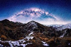 В погоне за звездами. Ночное небо в Новой Зеландии
