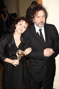 Helena Bonham Carter and Tim Burton Photos - Orange British Academy Film Awards - Dinner Arrivals - Zimbio