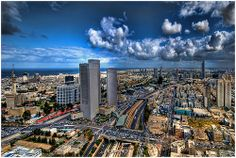 one more Tel Aviv skyline ! - Find the latest news about Israel, the Syria civil war and the Middle East at http://www.israelnewsreport.net/one-more-tel-aviv-skyline/.