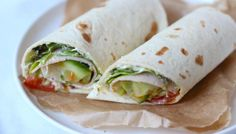 Looking for some lunch wrap tips? We show you six tasty wrap recipes that are ideal for lunch. Looking for some lunch wrap tips? We show you six tasty wrap recipes that are ideal for lunch. Love Food, A Food, Lunch Recipes, Healthy Recipes, Healthy Cooking, Tortilla Wraps, Lunch To Go, Lunch Time, Taco