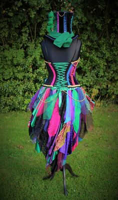 Mad Hatter Costume. Custom hand made fancy dress by Faerie In The Foxglove.