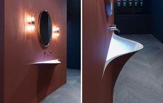 Lavabo de Corian® SILENZIO - Antonio Lupi Design®