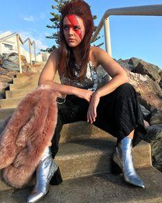 David Bowie costume makeup celebrity halloween
