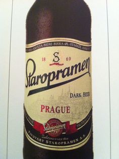 Czech beer. Strong and delicious