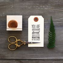 Oh, Hello Friend | You are ... - Rubber Stamp