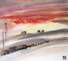 L'Ancre Bleue Exhibition of Shi ZhongGui's paintings