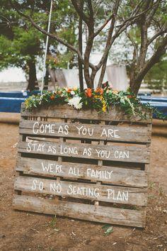 Photography: Eden Day Photography - www.edendayphotography.com  Read More: http://www.stylemepretty.com/california-weddings/2014/06/09/bold-autumn-backyard-wedding/