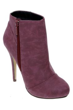 Michael Antonio Mains Ankle Boots In Wine