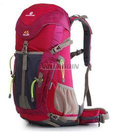 508bb32637aa Comfortable version of big capacity Outdoor walking backpack 45L Travel  Bags