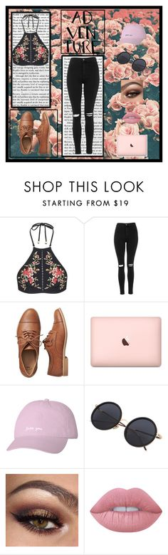 """Untitled"" by killerbarbiexoxo-123 on Polyvore featuring Zimmermann, Topshop, Gap and Lime Crime"