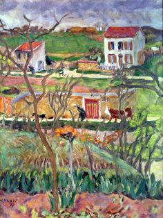 Rainy Landscape (1909) Pierre Bonnard