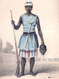 The Amazons of Dahomey -They started off as hunters, but soon the all-female African army corps proved that they were fiercer than fierce. In the 1600s, King Houegbadja of Dahomey, now Benin in West Africa, recruited women as bodyguards and elephant hunters. These fearless, disciplined warrior-athletes began a tradition of female fighters that lasted more than 250 years.