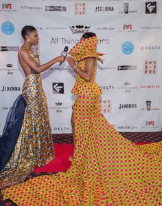 """Ankara fashion was highly embraced by attendees at the inaugural All Things Ankara Ball last month, and we have a beautiful video to showcase that to you. The event took place at An opulent ballroom in Upper Marlboro, Maryland set the scene quite fittingly, given the evening's theme of """"Nigerian Renaissance."""" Many came to celebrate Nigeria's 55th year of independence in style and also honor Jidenna and model Jessica Chibueze, recipients of the night's Nigerian Renaissance Ambassador Human..."""