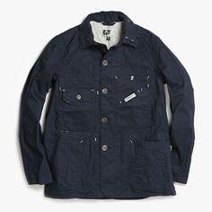 Engineered Garments Railroad Navy