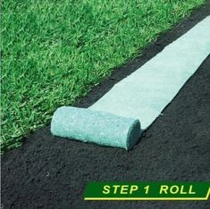 GrassGrow™ Biodegradable Grass Seed Protector Mat – Sunsdale Grass Seed Mat, Grass Rolls, Roll Out Grass, Growing Grass, Garden Solutions, Hydrangea Care, Seed Germination, Garden Projects, Garden Inspiration