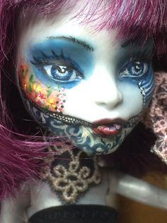 Monster high ooak de profil
