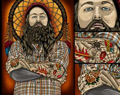 Amazing illustrations by Pale Horse