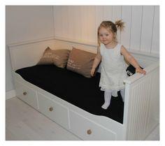 Ikea Hemnes sofa with knobs from Zara Home