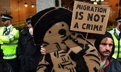 There are no official figures on UK illegal migration.
