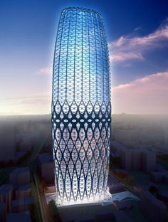 Dorobanti Tower in Bucharest. Zaha Hadid Architects