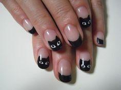 Nail : 猫ちゃんネイル
