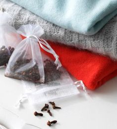 This simple-to-make DIY sachet is a natural, nice-smelling alternative to store-bought mothballs.