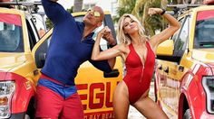 """Red-Band Trailer for Dwayne Johnson's BAYWATCH - """"This Some Baywatch Motherf**ker!"""" — GeekTyrant"""