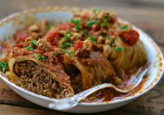 Make these Polish Cabbage Rolls Golabki Crock Pot Recipe and enjoy an authentic Polish meal tonight. Crock Pot Recipes, Pork Recipes, Slow Cooker Recipes, Cooking Recipes, Healthy Recipes, Cabbage Recipes, Crockpot Meals, Crock Pot Slow Cooker, Crock Pot Cooking