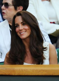 Kate Middleton - hair.  If mine was much thicker...LOL
