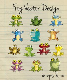 GraphicRiver Frog Vector Design 2747135