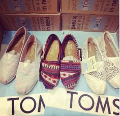 I wish I could buy every pair of TOMS SHOES! These are one pair of my favorite TOMS shoes.$17 #gifts #toms #tomssale2014 #tomsclearance   See more about wedding shoes, toms discount and tom shoes.