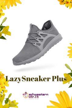 Dieser Plus-Sneaker bietet deinem Fuss mehr Platz und der Schuh kann bequem an- und ausgezogen werden. Optimierte Verarbeitung und verbessertes Gewebe. Schlupfschuh mit Schnürsenkel für einen optimalen Halt. In vielen Farben erhältlich. Jetzt online bei schwesternuhr.ch bestellen - Ohne Versandkosten! #schwesternuhrch #schwesternuhr #schwesternschuhe #sneaker #lazysneaker #lazysneakerplus #arbeitsschuhe Sneakers, Comfortable Work Shoes, Total Black, Fitness Shoes, Black Shoes, News, Shoes Sport, Tennis, Slippers